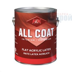 Американская краска ACE Paint All Coat Interior/exterior Flat Acrylic Latex Mate