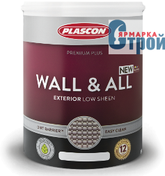PLASCON WALL & ALL / Пласкон Волл & Ол фасадная краска