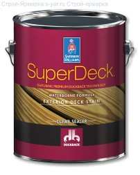 Sherwin-Williams Пропитка для дерева SuperDeck  EXTERIOR OIL-BASED SEMI-TRANSPARENT STAIN