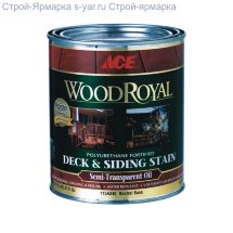 Ace Paint WOOD Royal Deck Siding Semi-transparent Oil Stain