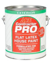 Ace Paint Краска фасадная латексная Contractor pro exterior flet latex house paint
