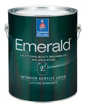 Краска Sherwin Williams Emerald Interior Acrylic Latex Paint Полуматовый, 1 галлон (3,78л.)