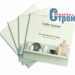 Little Green Литтл Грин Брошюра Little Book of Colour RUS по краскам LG 2017