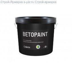 Краска фасадная Colorex Betopaint