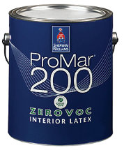 "Краска для потолка Sherwin Williams ""Promar 200 Latex Flat Low VOC"""