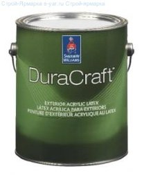 Краска фасадная матовая Sherwin-Williams DuraCraft Exterior Latex Flat