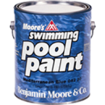 Benjamin Moore 042. Swimming Pool Paint